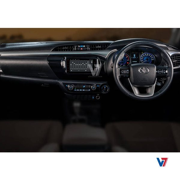Toyota Hilux Revo V7 Navigation Audio Setting