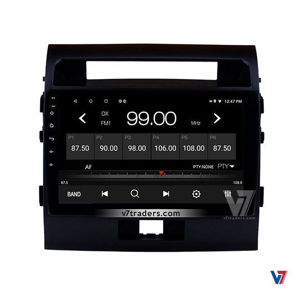 Toyota Land Cruiser 2008-16 Navigation Panel V7 Radio