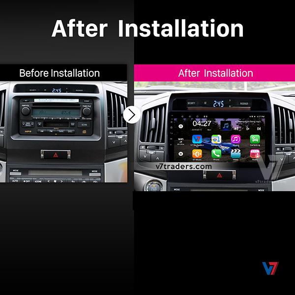 Toyota Land Cruiser Navigation V7 Dashboard