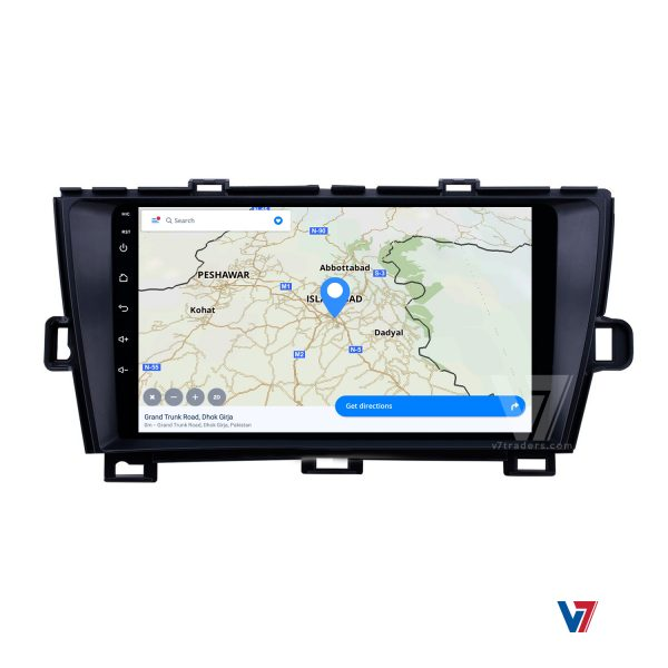 "Toyota Prius Android Navigation 10/11"" Screen 4"