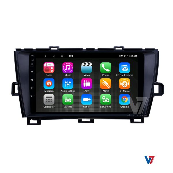 "Toyota Prius Android Navigation 10/11"" Screen 7"