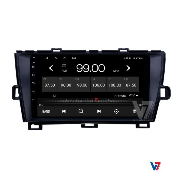 "Toyota Prius Android Navigation 10/11"" Screen 6"