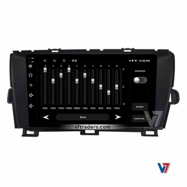 Toyota Prius V7 Navigation Audio Setting