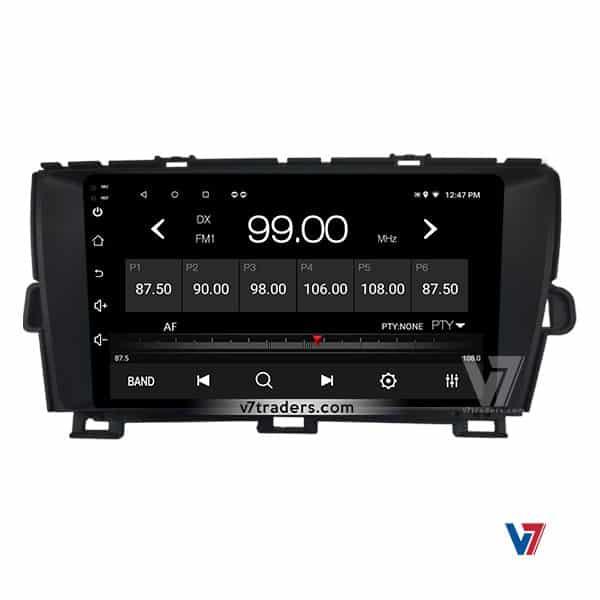Toyota Prius V7 Navigation Radio
