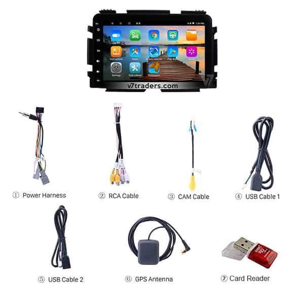 honda Vezel Hr v Android Navigation V7 Accessories