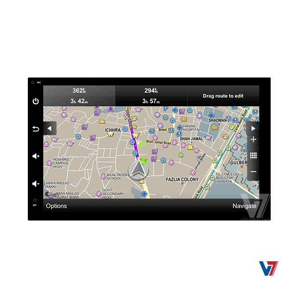 Android Navigation V7 Universal Map