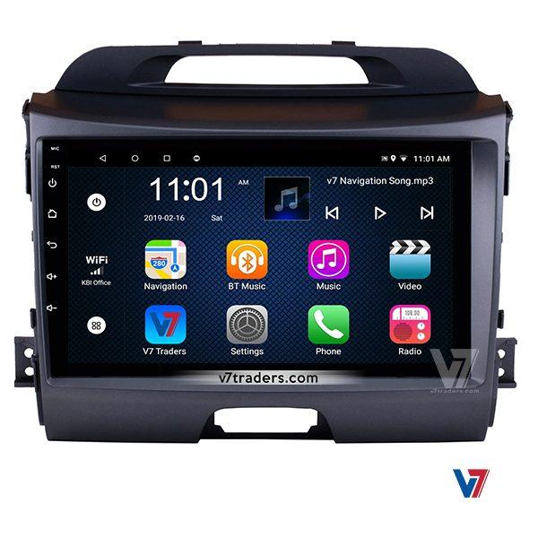 KIA Sportage V7 Navigation LCD Panel