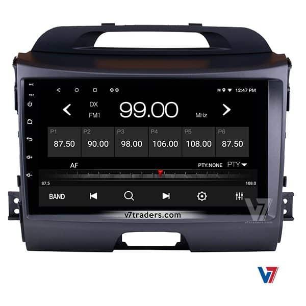 KIA Sportage V7 Navigation Panel Radio