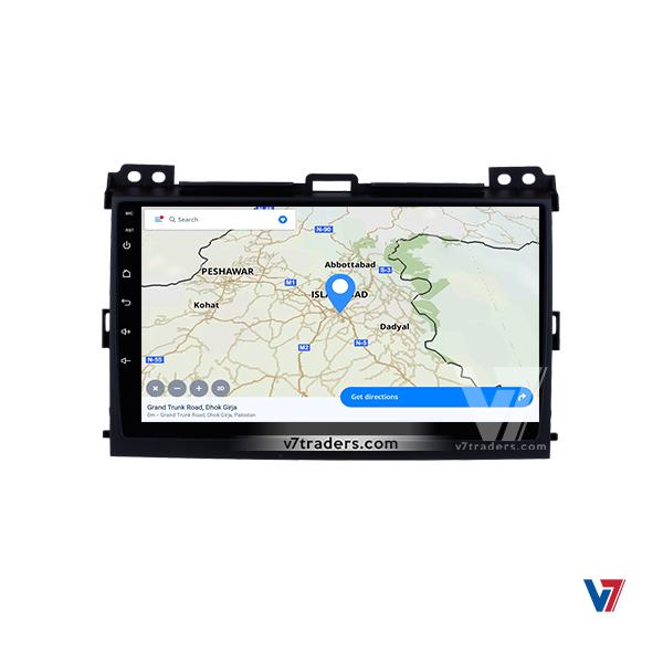 Prado 2002-09 Android Navigation 5