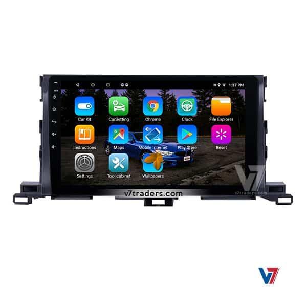 Toyota Highlander V7 Android Navigation (1)