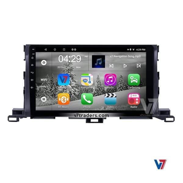 Toyota Highlander V7 Android Navigation (2)