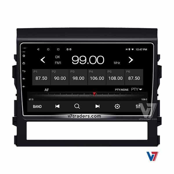 Toyota Land-Cruiser 2016-18 Android V7 Naivgation Radio