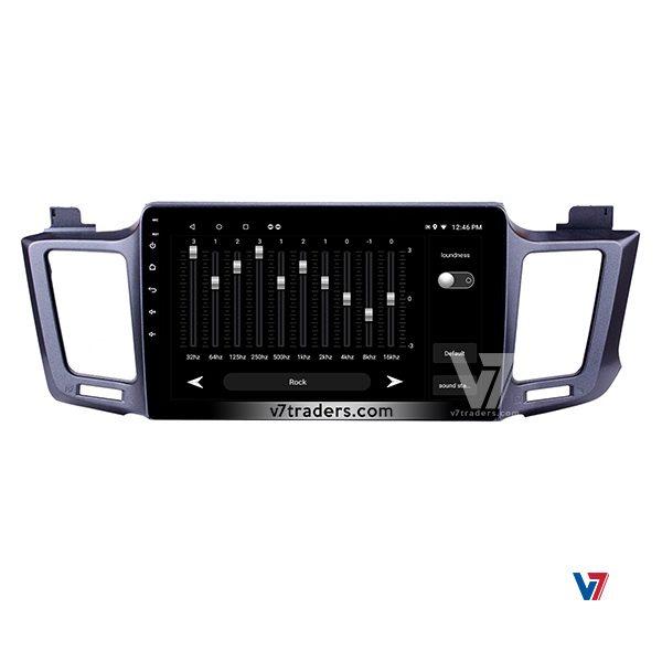 Toyota RAV-4 Android Navigation Audio Setting