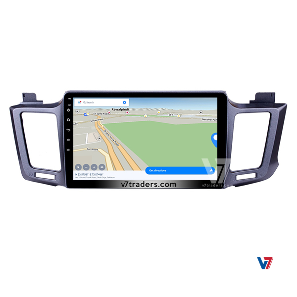 Toyota RAV-4 Android Navigation Map
