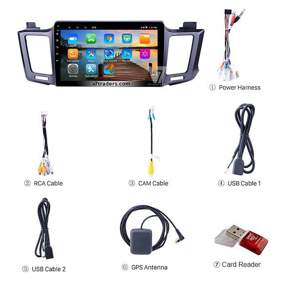 Toyota Rav 4 V7 Android Navigation Accessories