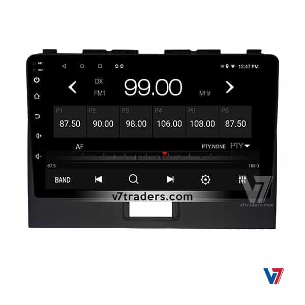 suzuki Wagon R V7 Android Navigation Panel (1)