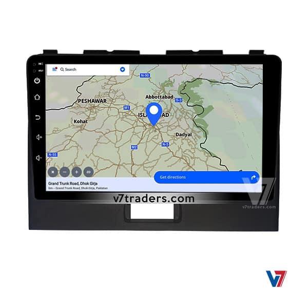 suzuki Wagon R V7 Android Navigation Panel (2)