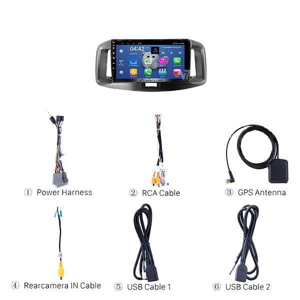 Daihatsu Mira 2012-16 Android Navigation 2