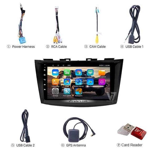 Suzuki Swift V7 Navigation Japanese Accessories