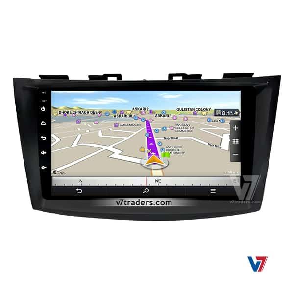 Suzuki Swift V7 Navigation Japanese Map
