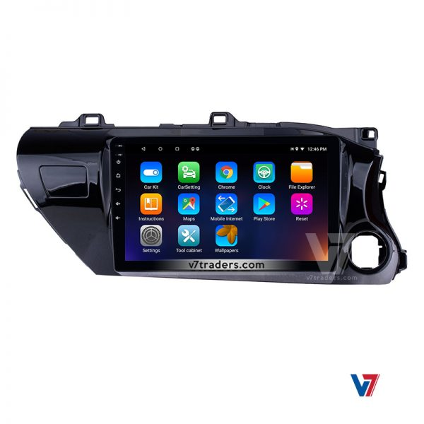 "Hilux Revo Android Navigation 10/11"" Screen 8"