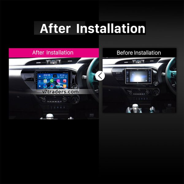 "Hilux Revo Android Navigation 10/11"" Screen 2"