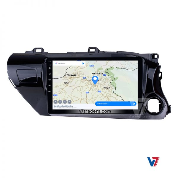 "Hilux Revo Android Navigation 10/11"" Screen 5"