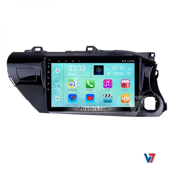 "Hilux Revo Android Navigation 10/11"" Screen 4"