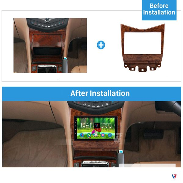 Accord CL9 Cl7 7 inch Android Navigation V7 Dashboard