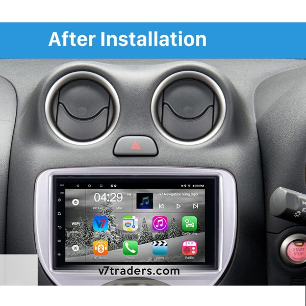 Nissan March Android Navigation 2