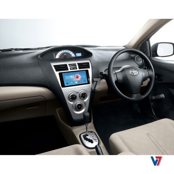 Toyota Belta Android Navigation Dashboard