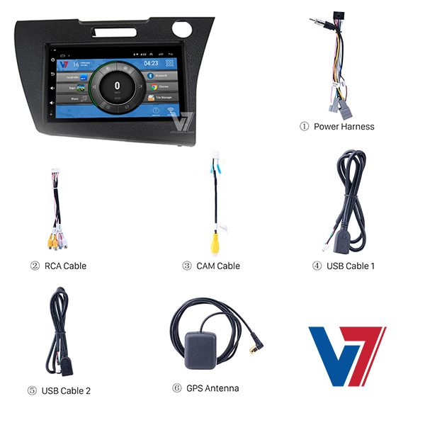 honda CR Z Android Navigation V7 Accessories