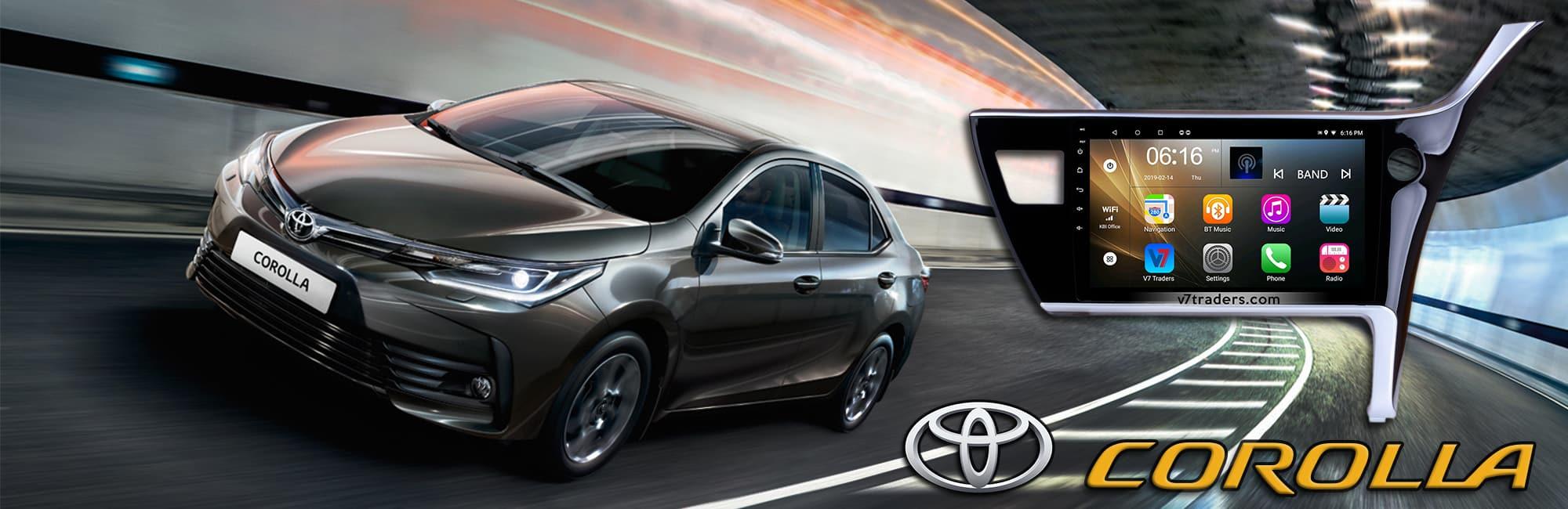 Toyota Corolla 2018 Navigation