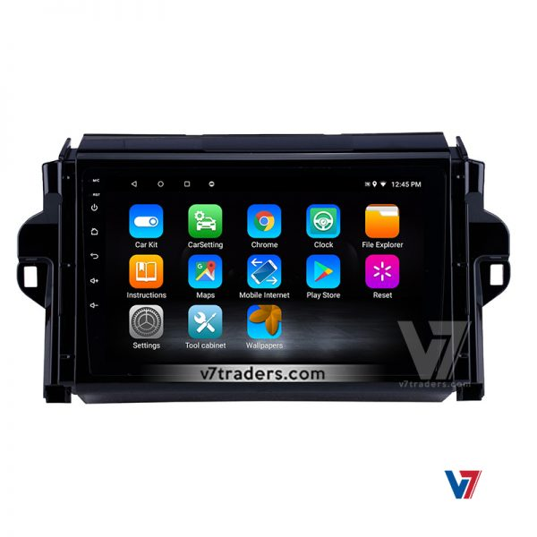 """Toyota Fortuner Android Navigation 10/11"""" Screen 7"""