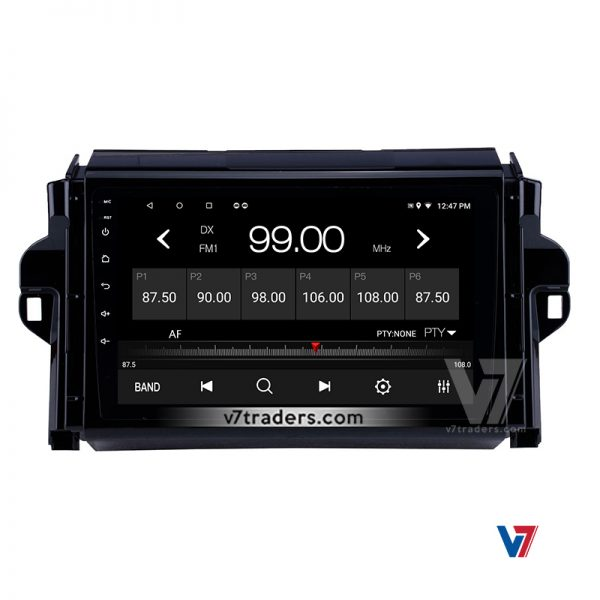 """Toyota Fortuner Android Navigation 10/11"""" Screen 3"""