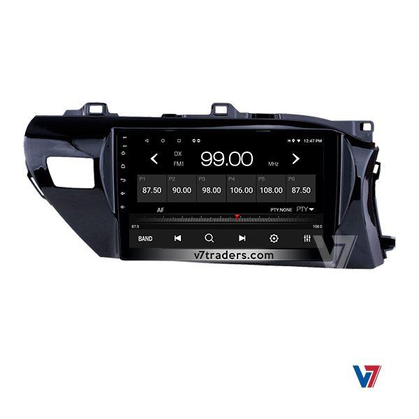 """Toyota Hilux Vigo 2017-20 Navigation 10/11"""" Screen 4"""