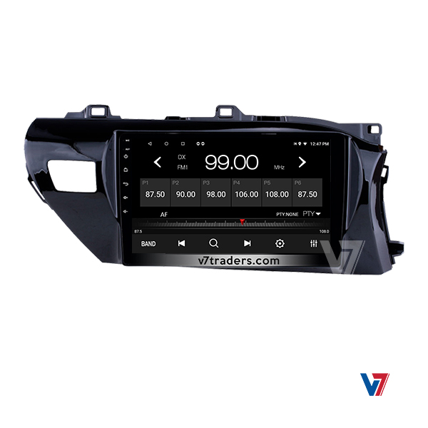 """Hilux Revo Android Navigation 10/11"""" Screen 4"""