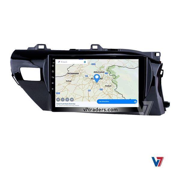 """Toyota Hilux Vigo 2017-20 Navigation 10/11"""" Screen 3"""