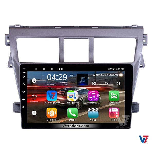 "Toyota Belta Android Navigation 10/11"" Screen 4"