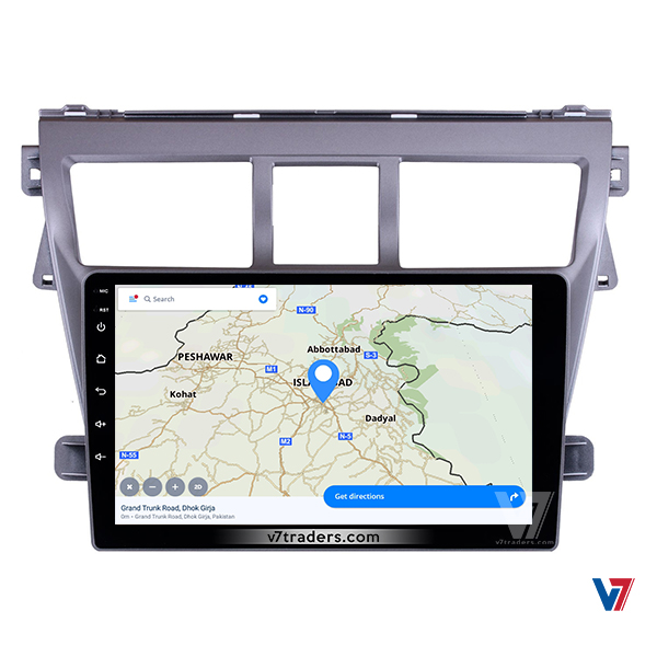 "Toyota Belta Android Navigation 10/11"" Screen 6"