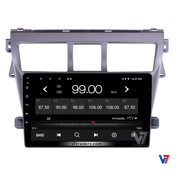 "Toyota Belta Android Navigation 10/11"" Screen 5"
