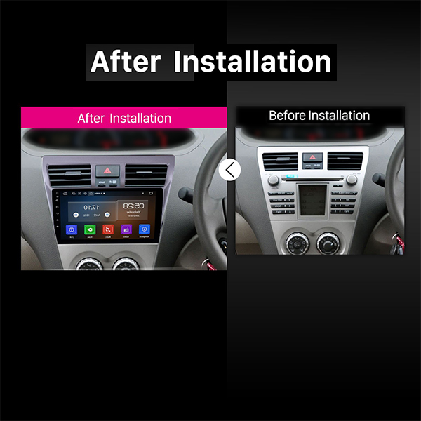 "Toyota Belta Android Navigation 10/11"" Screen 2"