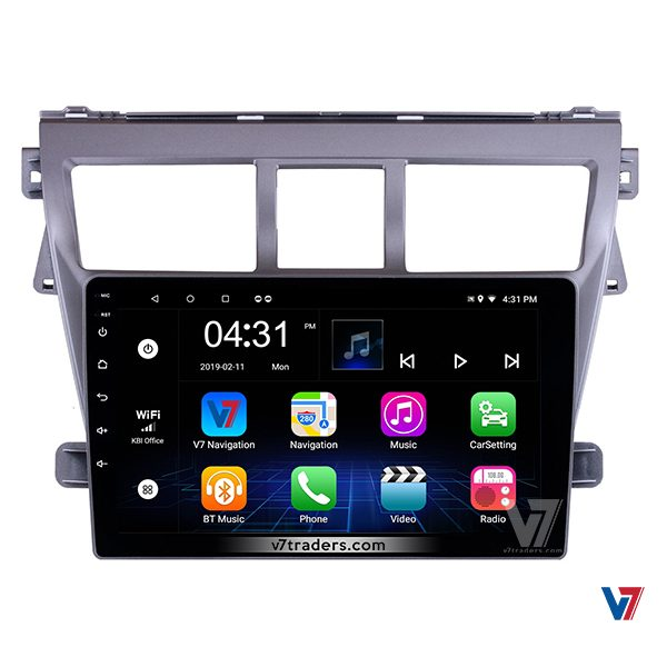 "Toyota Belta Android Navigation 10/11"" Screen 1"