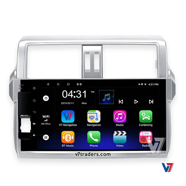 "Prado 2014-15 Android Navigation 10/11"" Screen 1"