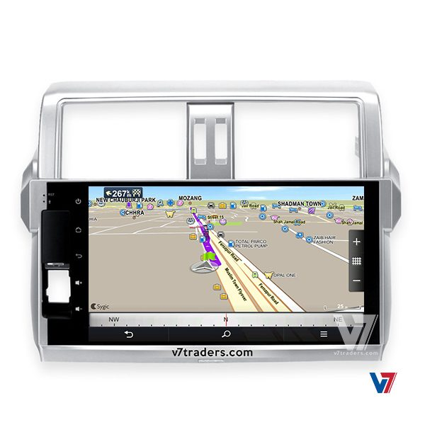 "Prado 2014-15 Android Navigation 10/11"" Screen 3"