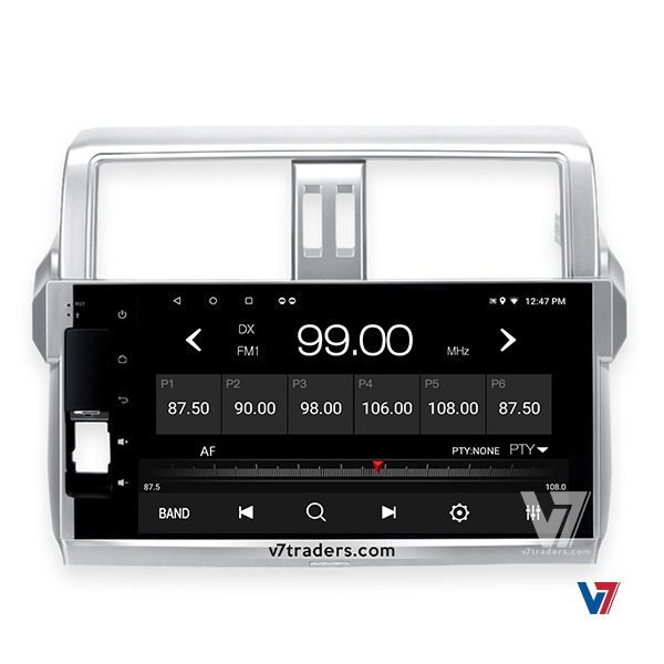 "Prado 2014-15 Android Navigation 10/11"" Screen 2"
