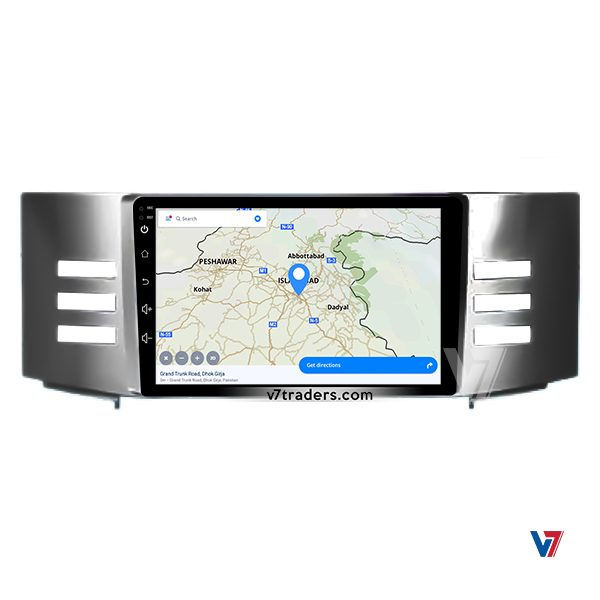 """Toyota Mark X 2004-08 Android Navigation 10/11"""" Screen 3"""