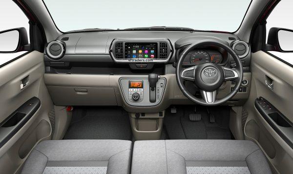Toyota Passo 2011-18 Navigation 1