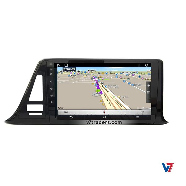 """Toyota CHR Android Navigation 10"""" Screen 3"""