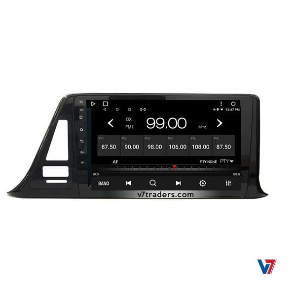 """Toyota CHR Android Navigation 10"""" Screen 2"""